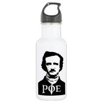 Edgar Allan Poe Stainless Steel Water Bottle