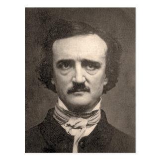 Edgar Allan Poe Tarjeta Postal