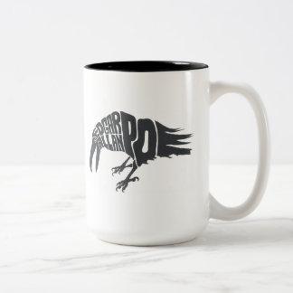 Edgar Allan Poe - The Raven Two-Tone Coffee Mug