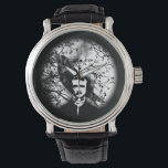 """Edgar Allan Poe &#39;The Raven&#39; Wristwatch<br><div class=""""desc"""">The perfect gift for fans of Edgar Allan Poe,  or horror literature in general</div>"""