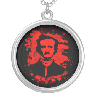 Edgar Allan Poe tributes (talk) Silver Plated Necklace