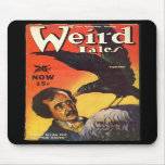 Edgar Allan Poe Weird Tales Cover Mouse Pad