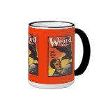 Edgar Allan Poe Weird Tales Cover Mug