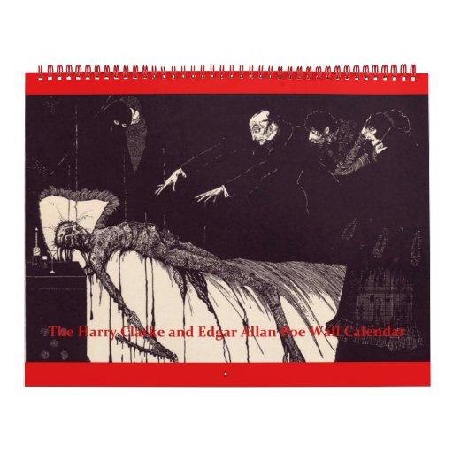 Edgar Allan Poe y el calendario de pared de Harry