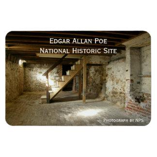 Edgar Allan Poe's Basement Rectangular Photo Magnet
