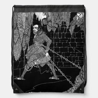 Edgar Allan Poe's Cask of Amontillado Drawstring Bag