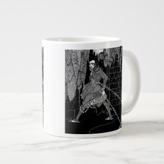 Edgar Allan Poe's Cask of Amontillado Large Coffee Mug