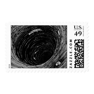 Edgar Allan Poe's Descent into the Maelstrom Stamps