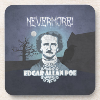 Edgar Allan Poe's Nevermore Beverage Coaster