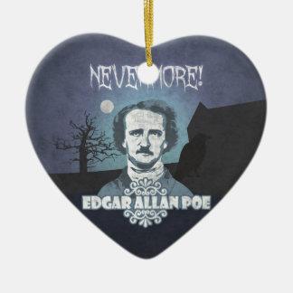 Edgar Allan Poe's Nevermore Ceramic Ornament
