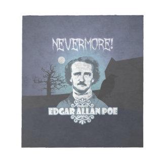 Edgar Allan Poe's Nevermore Notepad