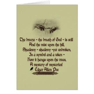 Edgar Allan Poe's Quote Card