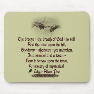 Edgar Allan Poe's Quote Mouse Pad