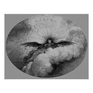 Edgar Allan Poe's Raven - Anatkh Poster