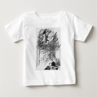 Edgar Allan Poe's The Raven By Edouard Manet Baby T-Shirt