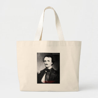 "Edgar Allen Poe ""Bouts Of Sanity"" Quote Gifts Tees Tote Bags"