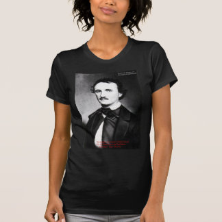 """Edgar Allen Poe """"Bouts Of Sanity"""" Quote Gifts Tees Tees"""