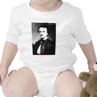 "Edgar Allen Poe ""Bouts Of Sanity"" Quote Gifts Tees Bodysuit"