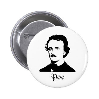 Edgar Allen Poe Button