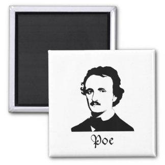 Edgar Allen Poe Imán Cuadrado