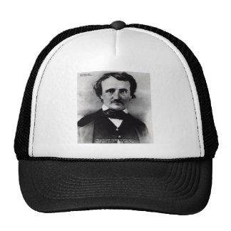 """Edgar Allen Poe """"llora solamente"""" los regalos de l Gorras De Camionero"""