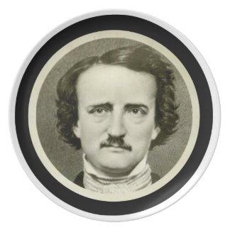 Edgar Allen Poe Melamine Plate