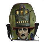 Edgar Allen Poe Messenger Bag