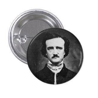 Edgar Allen poe Pin Redondo 2,5 Cm