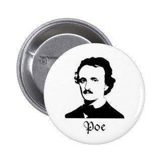 Edgar Allen Poe Pin Redondo De 2 Pulgadas