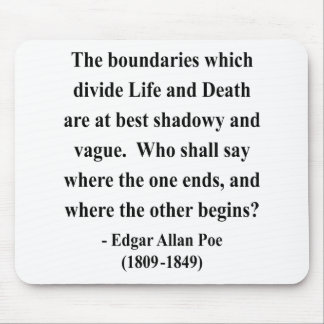 Edgar Allen Poe Quote 10a Mouse Pad