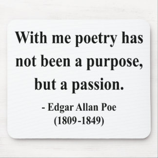 Edgar Allen Poe Quote 11a Mouse Pad
