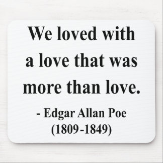 Edgar Allen Poe Quote 12a Mouse Pad