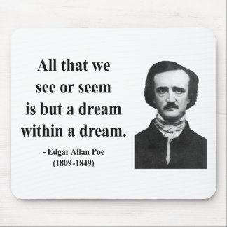Edgar Allen Poe Quote 1b Mouse Pad