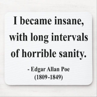 Edgar Allen Poe Quote 2a Mouse Pad