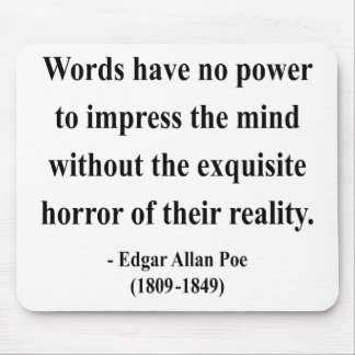 Edgar Allen Poe Quote 4a Mouse Pad