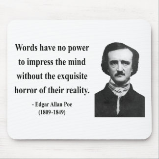 Edgar Allen Poe Quote 4b Mouse Pad