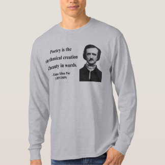 Edgar Allen Poe Quote 5b T Shirt
