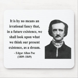 Edgar Allen Poe Quote 7b Mouse Pad