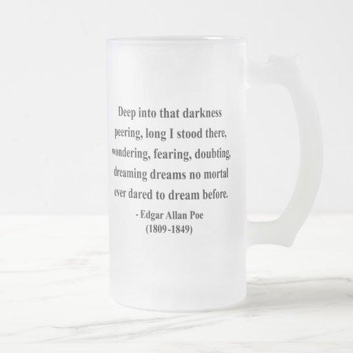 Edgar Allen Poe Quote 8a Coffee Mug