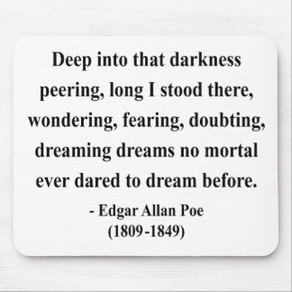 Edgar Allen Poe Quote 8a Mouse Pad