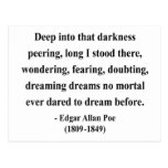 Edgar Allen Poe Quote 8a Post Cards