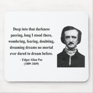 Edgar Allen Poe Quote 8b Mouse Pad