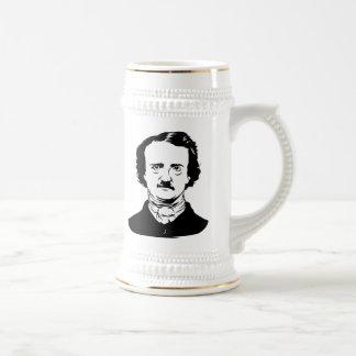 Edgar Allen Poe Raven Beer Stein