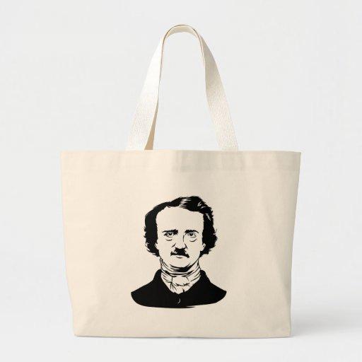Edgar Allen Poe Raven Jumbo Tote Bag