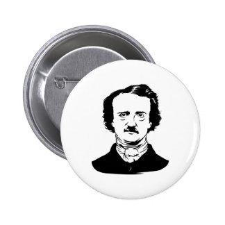 Edgar Allen Poe Raven Pinback Button