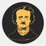 Edgar Allen Poe Raven Sticker