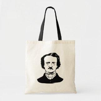 Edgar Allen Poe Raven Tote Bag