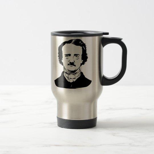 Edgar Allen Poe Raven Travel Mug