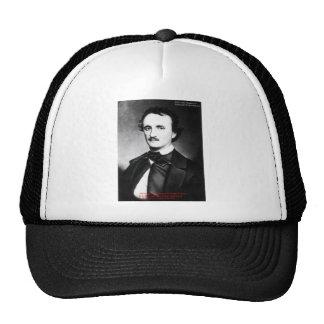 """Edgar Allen Poe """"religión es"""" regalos de la cita d Gorras"""