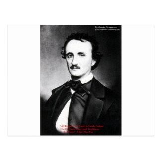 """Edgar Allen Poe """"religión es"""" regalos de la cita Postal"""